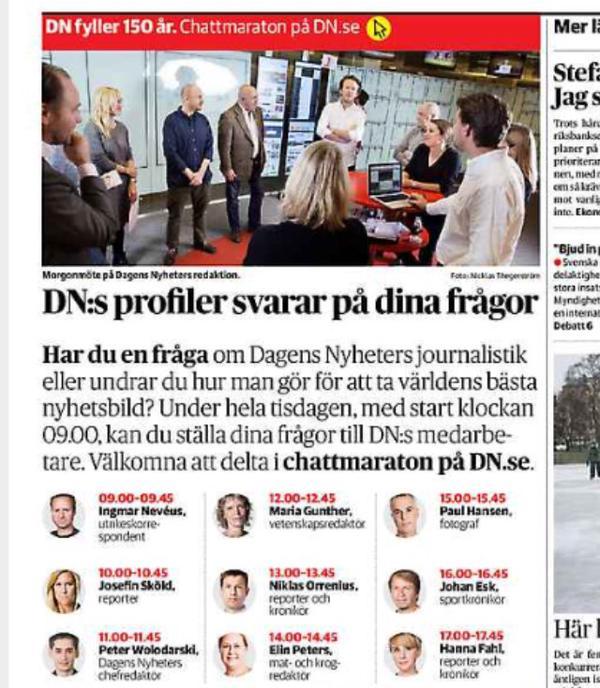 DNs profiler